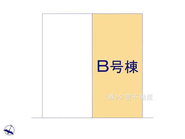 【区画図】川口市大字里1124-8(B号棟)新築一戸建てブエナタウン