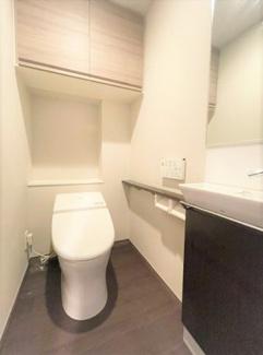 ゆったりとした空間のトイレです 上野の賃貸物件。 「プレシス上野リュクス」のことなら(株)メイワ・エステートへ