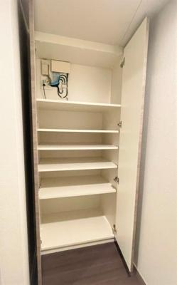 専用の収納スペースです 上野の賃貸物件。 「プレシス上野リュクス」のことなら(株)メイワ・エステートへ