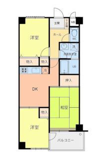 ヴィラKM 井土ヶ谷駅徒歩12分 3DK マンション
