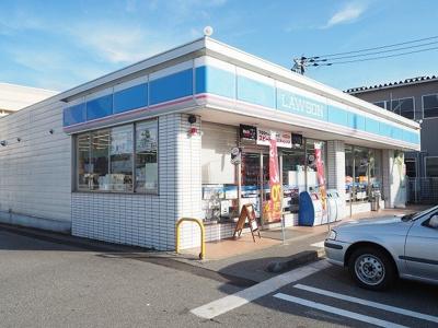 ローソン富山新庄銀座店まで700m