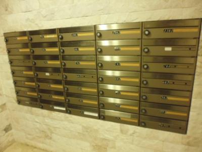 メールBOX完備。