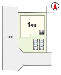 【区画図】KEIAI Riccaつくば市高見原2期