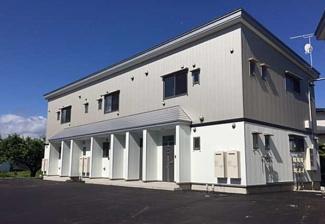 【外観】《満室高稼働中》山形県米沢市塩井町塩野2棟一括売アパート