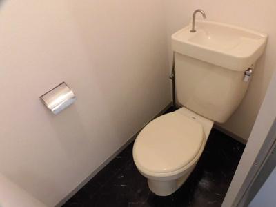 【トイレ】プレジールホーコ A棟