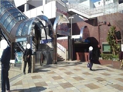 小田急町田駅まで2350m