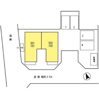 【区画図】フォンテーヌ1
