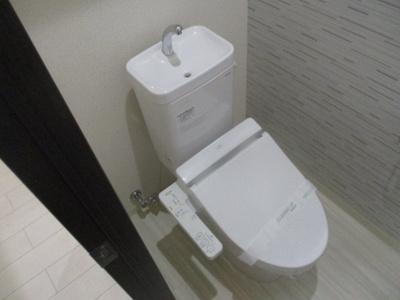 【トイレ】ラフィーネ聖天坂Ⅵ番館