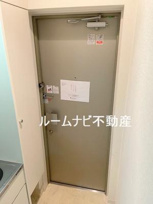 【玄関】グリーンコート白山