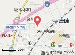【地図】ユーヴィレッジ