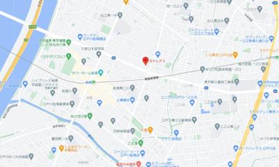 【地図】カトレヤⅢ