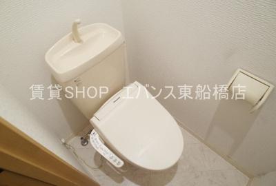 【トイレ】テラス夏見台
