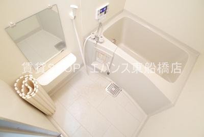 【浴室】テラス夏見台