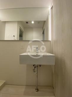 アクアスイート南森町 独立洗面化粧台