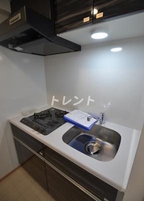 【キッチン】グランパセオ新宿河田町【GRAN PASEO新宿河田町】