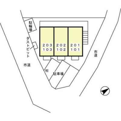 【区画図】パテオ紙敷