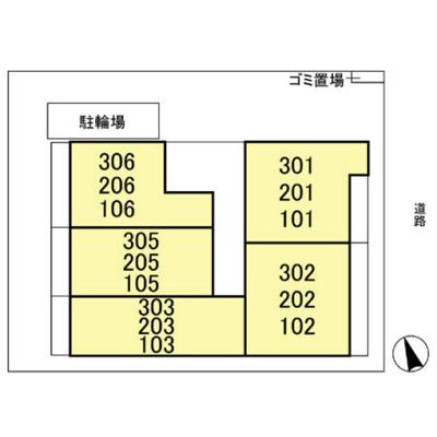 【区画図】ディアコート馬橋