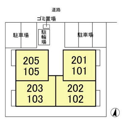 【区画図】キューブ東松戸