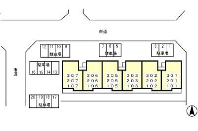 【区画図】ロイヤル南流山