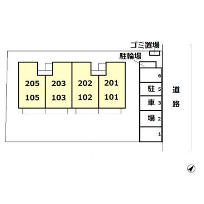 【区画図】パークハウス