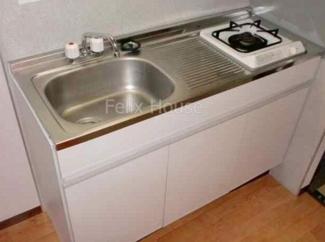 【キッチン】パークサイド21B棟