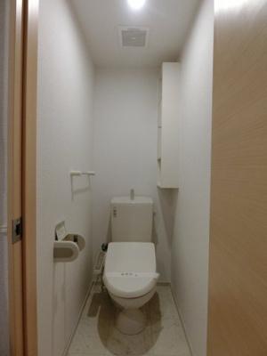 【トイレ】ブライト スクエアⅢ B