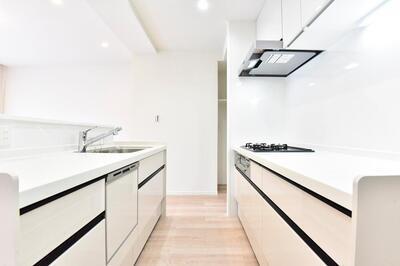 【キッチン】かしわ台クラルテ東棟