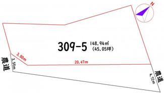 【区画図】高知市介良丙