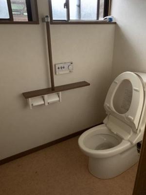 【トイレ】恵下貸家