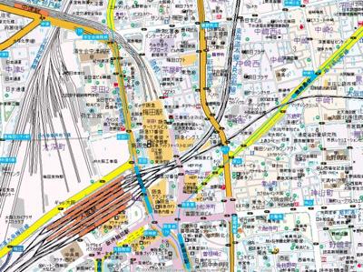 【地図】ダイナシティ梅田
