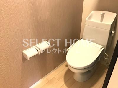 ゆったりとした空間のトイレです イメージです