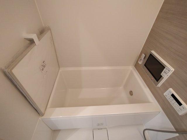 浴室TV付きでバスタイムが楽しくなりますね♪