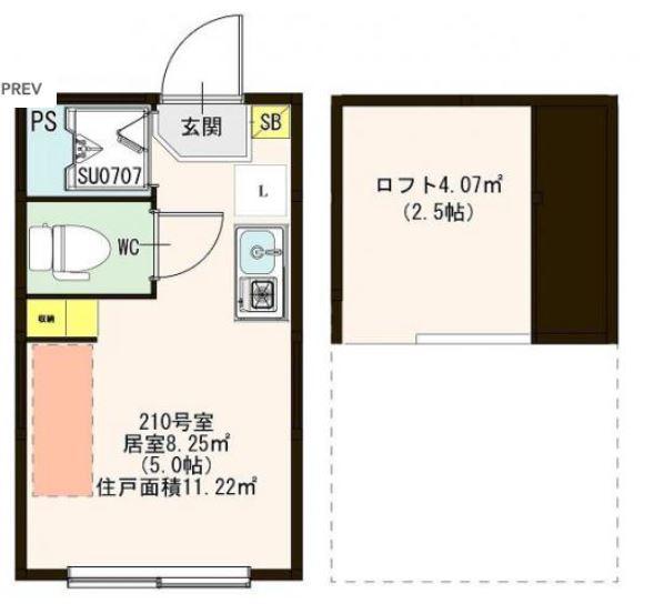 (仮称)東十条六丁目アパート★間取り