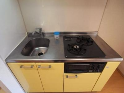 システムキッチン(2口ガス・グリル付)