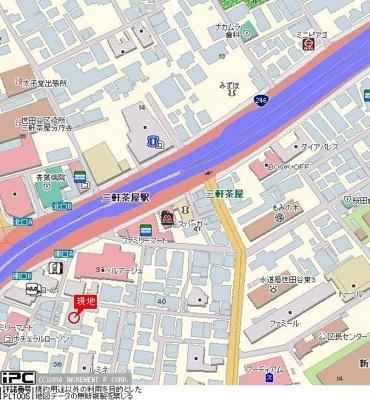 【地図】ヴェルト三軒茶屋
