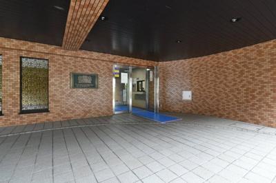 【エントランス】ライオンズマンション武蔵新城第5