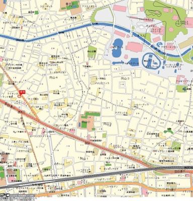 【地図】ライオンズマンション中村橋第三