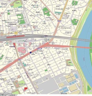 【地図】TOP金町