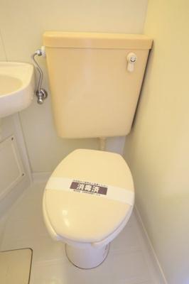 【トイレ】スカイコート神奈川新町