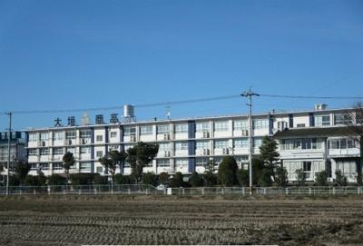 県立大垣商業高校まで1100m