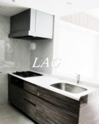 キッチンです。(モデルルーム仕様になります。)