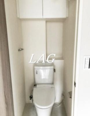 トイレです。(モデルルーム仕様になります。)
