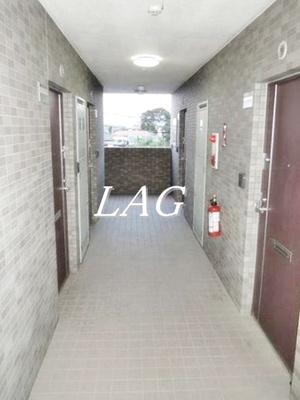 共用廊下になります。