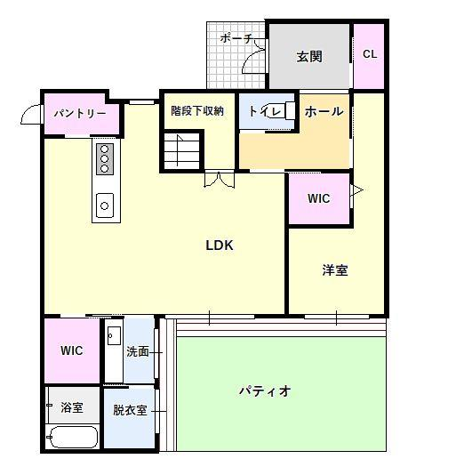 【間取り】茶山6丁目戸建て