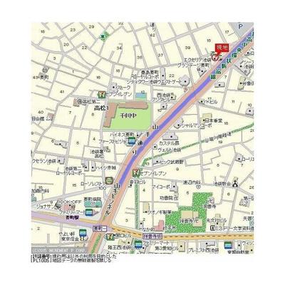【地図】エクセリア池袋WEST