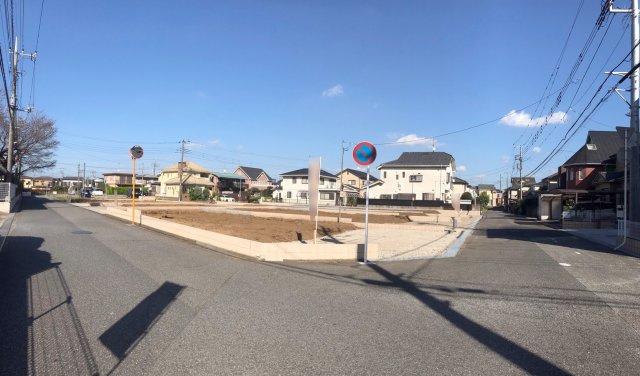 【前面道路含む現地写真】野田春日町第6 全8棟