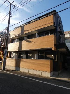 都営浅草線「西馬込駅」徒歩8分のアパートです。