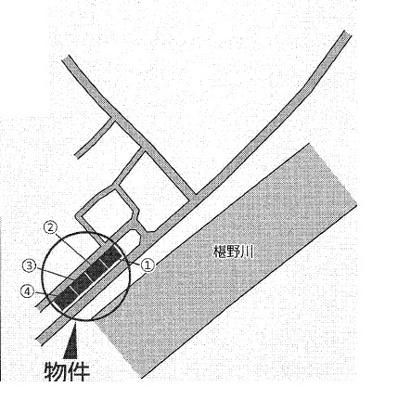 【区画図】クレイドルガーデン山口市朝田 第3(1号棟)