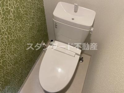 【トイレ】フォーリアライズ天神橋ルーチェ