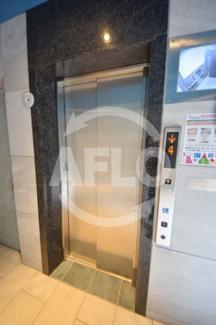 プレサンス上町台筆ヶ崎NORTH エレベーター